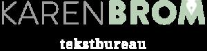 Logo Karen Brom tekstbureau